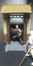 "Custom Diorama 1/12 scale articulated icons 6"" ninja samurai figure display door"