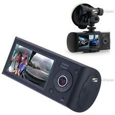 Dual Car Camera GPS logger Dash HD DVR Video Vehicle Cam Recorder Crash Car PE