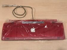 NEW Apple Mac Strawberry iMac USB keyboard, Red, FREE SHIPPING