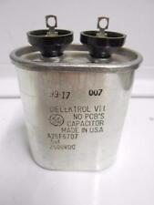 0.5uF 2500V General Electric 26F6707 High Voltage Oval Capacitor