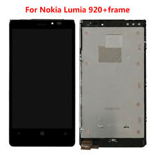 100% Genuine For Nokia Lumia 920 LCD Display Touch Screen Digitizer + Frame