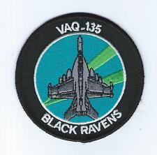 VAQ-135 EA-18G BLACK RAVENS BULLET patch