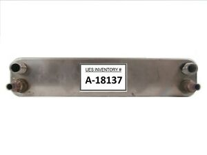 Alfa Laval CB60-30H/32870 8659 1 Brazed Plate Heat Exchanger Working Surplus