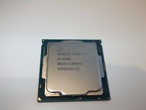 Intel Core i5-9400 Processor 9th Gen 6 Core 2.9Ghz TURBO 4.10Ghz SR3X5 CPU