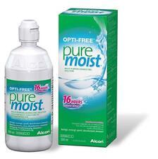 Opti-Free Pure Moist 300ml Comfort Moisturiser Contact Lens Solution for 1 month