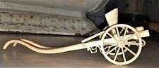 More details for authentic napoleonic prisoner o war carved partially articulated bone pony trap