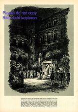 Festspiele Heidelberg XL Kunstdruck 1940 Schloßhof Kleist Amphitryon Freilicht +