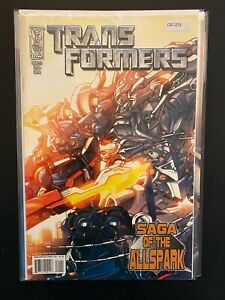 Transformers 1 Cvr A Megatron High Grade IDW Comic Book CL97-225