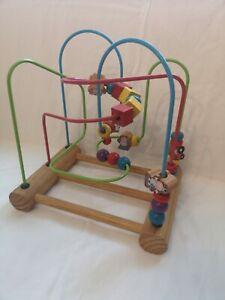 Vintage Chad Valley Bead Maze Frame. Baby/preschool Toy 1996