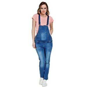 Umstandsmode Latzhose Jeans Schwangerschaftslatzhose Maternity Overall Salopette