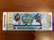 2019 Winter Classic Ticket Stub - Chicago Blackhawks vs. Boston Bruins