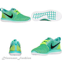 Nike ROSHE TWO FLYKNIT (GS) <844620 - 300> Casual Sneakers Shoes,New with Box.