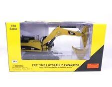 Caterpillar Cat 374D Hydraulic Excavator Metal Tracks Norscot 55274 Construction