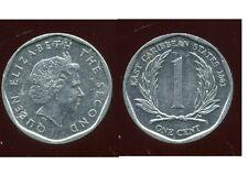 est CARAIBES  1 cent  2002  ( bis )