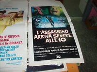 L'Assassin Kommt Immer Zu 10 Plakat Original 1973