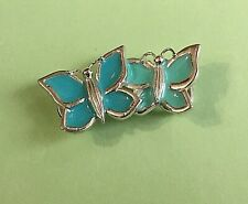 Clasp - Double Butterfly Sterling Silver 925 New Use with Convertible bracelet