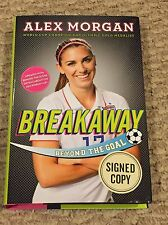 Alex Morgan Breakaway Signed Hardcover World Cup Gold Medalist Rare Auto SP