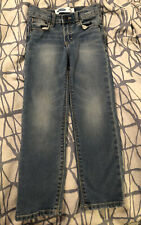 Toddler Boy Straight Leg Medium Wash Jeans From Old Navy, Size 5T