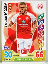 Match Attax 2017/18 Bundesliga - #230 Alexandru Maxim - 1. FSV Mainz 05