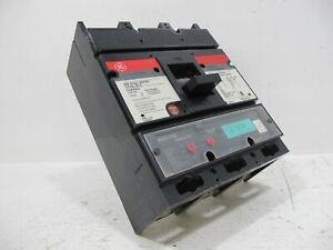General Electric TJ4V2606 600 Amp Breaker T4VTN Trip MVT Versa GE 600A 600V TJ4V