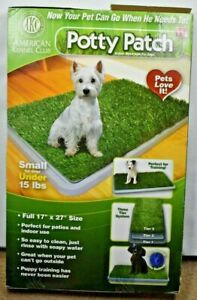 AKC American Kennel Club Potty Patch Indoor Toilet Grass For Dogs and Puppies
