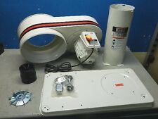Jet Portable Dust Collector w/ Stand 650 CFM 115v 1 HP Single Phase DC-650M