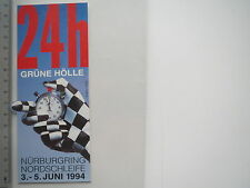 Aufkleber Sticker Nürburgring - Nordschleife - Grüne Hölle (6803)