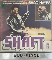 ISAAC HAYES - SHAFT - SOUNDTRACK - Double Vinyl Lp - STAX 1971 EX / VG+