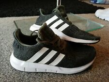 Adidas Swift Run Green Size 2 Boys Trainers