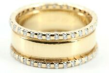 Diamant Goldring Bandring 585 14K Gr 57 66 Brillanten ca. 0,924ct SI H 7,29g