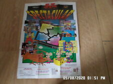Nintendo NES / Gameboy (1990) Spectacular Seta Promo Poster / Insert