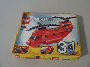 ( 14 ) Lego Creator 31003 Red Rotors Hubschrauber Sammlung NEU UNGEÖFFNET