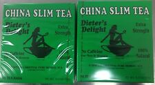 2 Boxes X China Slim Natural Herbal Diet Tea Lose Weight 36 Bags From USA