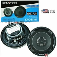 4 KFC-D161 320W 6.5� 3-Way Speaker /& Kit Kenwood KAC-6407 550W 4-Channel Amp