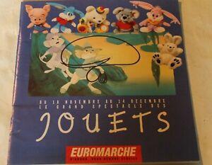 ▬► Catalogue Jouets   EUROMARCHE de 1991