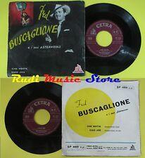 LP 45 7'' FRED BUSCAGLIONE E I SUOI ASTERNOVAS Che notte Joe 1959 no cd mc dvd