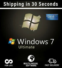 Microsoft Windows 7 Ultimate  - 32/64bit - Multilanguage - Key Original 100%