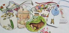 Gift Tags Set of 10 featuring Children's books images. Eco Friendly~Recycled