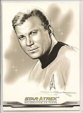 Star Trek 40th Anniversary ArtiFEX Bridge Crew Portraits Chase Card Set FP1-FP43