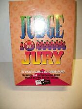 Judge 'n' Jury Audio Game of Trials & Tribulations