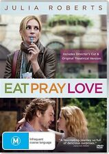 Eat Pray Love (DVD, 2011)