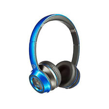 Monster N-Tune Hd Headband Headphones - Blue Candy Blueberry New and Sealed *