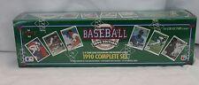 NIB 4 Sealed Complete Sets 1990 Upper Deck Score Bowman Topps baseball cards