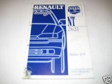 Werkstatthandbuch Renault Twingo Motor D7F Stand 1996