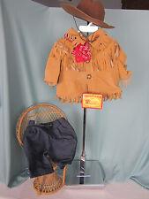 1991 Cornelius Vander Bear Wear #4191 #4196 NAB  Wild West Outfit Hat Shirt  NWT
