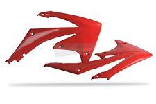 Radiador De Honda primicias obenques CRF 250 2010 - 2013 CRF 450 R 2009 - 2012 OEM Rojo