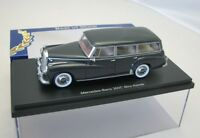 BoS Resine Model Car 1:43 Mercedes Benz W186 300C Combi Binz dark grey