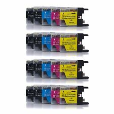 20 Color INK for Brother MFC-J5910DW MFC-J430W LC75 LC75BK LC75C LC75M LC75Y