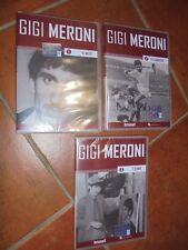 OPERA COMPLETA 3 DVD GIGI MERONI LA'UOMO EL MITO EL CARRERA TODOS LOS DEPORTES
