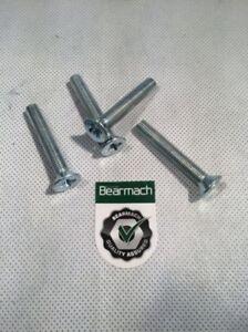 """Bearmach 4x Land Rover Defender Door Hinge Screw 5/16 UNF 3/4"""" Full Thread BR161"""